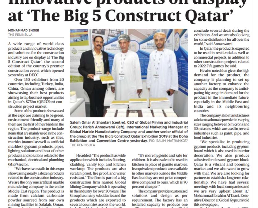 The Big 5 Construct Qatar – 24 Sep 2019